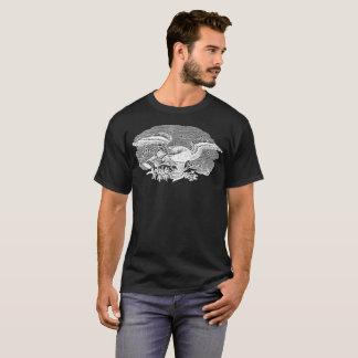 Camiseta T-shirt inverso da ilustração da arte espirituoso