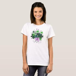 Camiseta T-shirt irlandês de Patricks da rua do buquê do