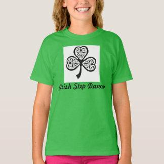 Camiseta T-shirt irlandês do dançarino da etapa - juventude