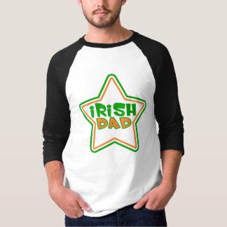 Camiseta T-shirt irlandês do pai