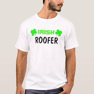 Camiseta T-shirt irlandês do Roofer
