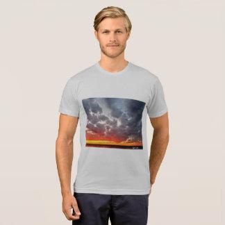 Camiseta T-shirt irritado do por do sol