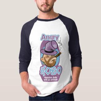Camiseta T-shirt irritado do vagabundo