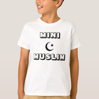 Camiseta T-shirt islâmico dos miúdos