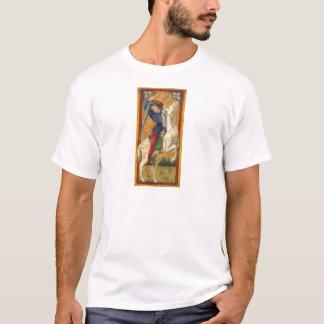 Camiseta T-shirt italiano do cavaleiro