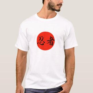 Camiseta T-shirt japonês da arte marcial de Ninja