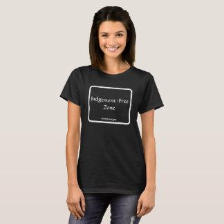 Camiseta T-shirt Julgamento-Livre da zona do #stopthestigma