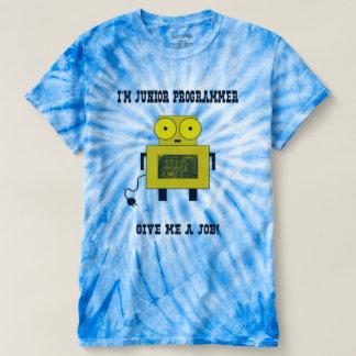 Camiseta T-shirt júnior do programador