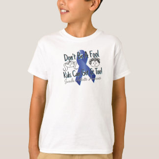 Camiseta T-shirt juvenil da consciência da artrite dos