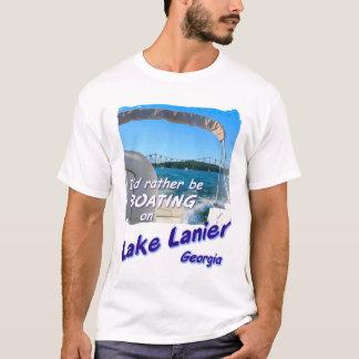 Camiseta T-shirt - lago Lanier, Geórgia: a