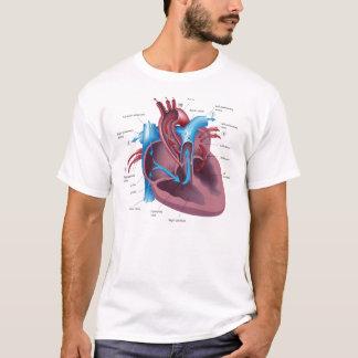 Camiseta T-shirt legal da anatomia do coração