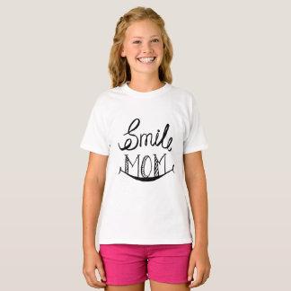 Camiseta T-shirt legal da mamã do sorriso