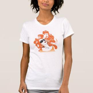 Camiseta T-shirt legal das senhoras
