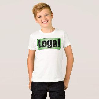 Camiseta T-shirt legal dos meninos do sonhador