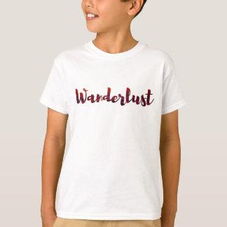 Camiseta T-shirt legal /sunset do Wanderlust/viagem do
