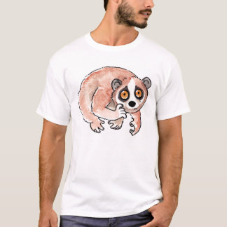 Camiseta T-shirt lento de Loris