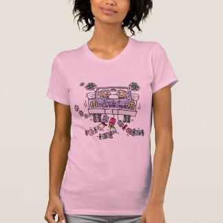 Camiseta T-shirt lésbica do recem casados do casamento