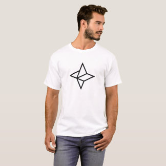 Camiseta T-shirt leve de Cryptocurrency das nebulosa