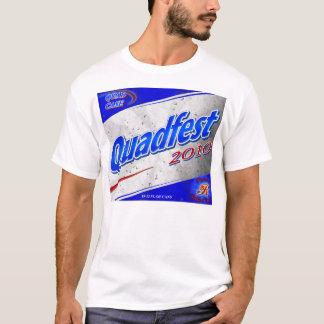 Camiseta T-shirt leve de Quadfest 2010