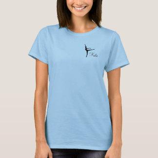 Camiseta T-shirt leve do Arabesque com nome