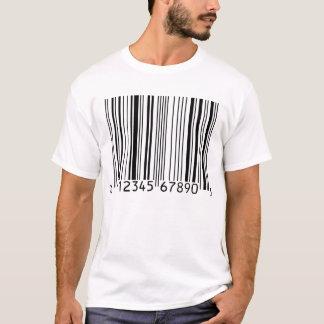 Camiseta T-shirt leve do código de barras (UPC)