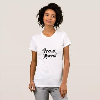 Camiseta T-shirt liberal orgulhoso