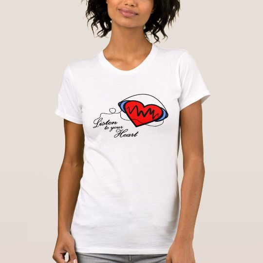 Camiseta T-shirt Listen to your heart