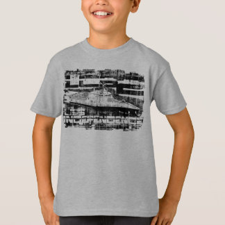 Camiseta T-shirt litoral da independência do navio de