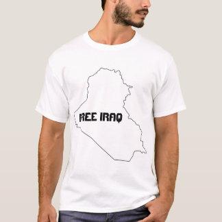 Camiseta T-shirt livre de Iraque