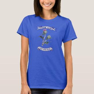 Camiseta T-shirt livre de Scotland do cardo gaélico para
