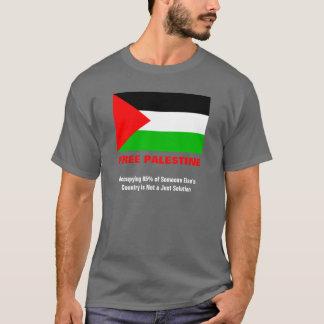 Camiseta T-shirt livre do cinza de carvão vegetal de