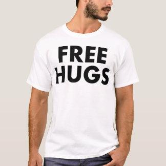Camiseta T-shirt livre dos abraços (B&W)