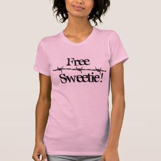 Camiseta T-shirt livres do docinho