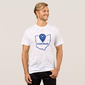 Camiseta T-shirt local da música (Ohio)