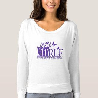 Camiseta T-shirt longo apto relaxado Bella da luva das