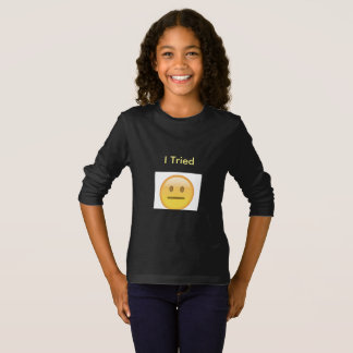 Camiseta T-shirt longo da luva da juventude