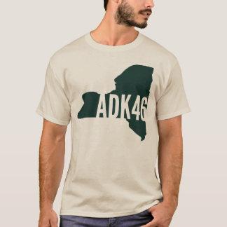 Camiseta T-shirt longo da luva da lista dos picos altos de