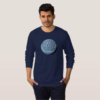 Camiseta T-shirt longo da luva da lua de MST3K (marinho)