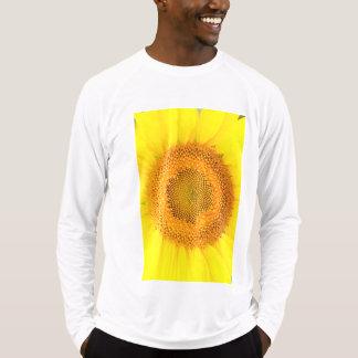 Camiseta T-shirt longo da luva do Esporte-Tek dos homens do