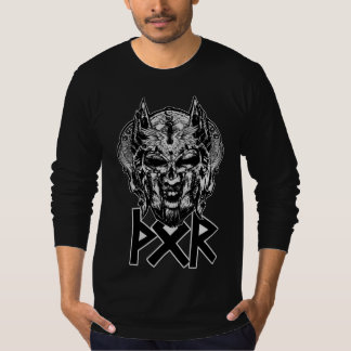 Camiseta T-shirt longo da luva do Thor