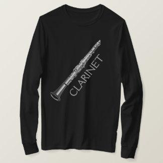 Camiseta T-shirt longo da luva dos homens do instrumento do