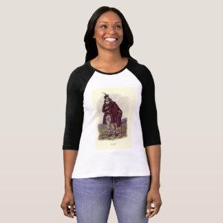 Camiseta T-shirt longo de Fraser Sleave do clã