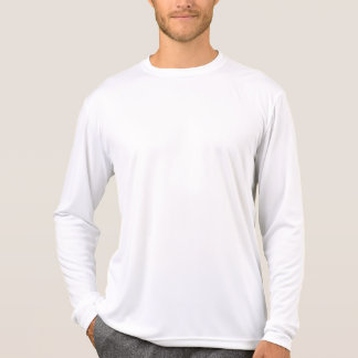Camiseta T-shirt longo DIY da luva do Esporte-Tek dos