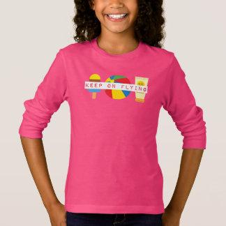 Camiseta T-shirt longo do alcaçuz de Jetset > da luva das