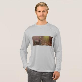 Camiseta T-shirt longo do concerto da luva de Steve Walsh