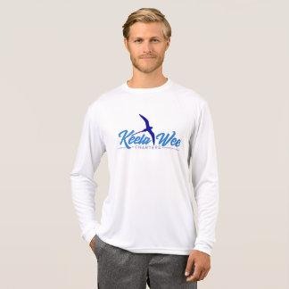 Camiseta T-shirt longo do desempenho da luva