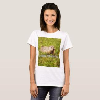 Camiseta T-shirt longo do inverno