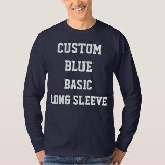 Camiseta T-SHIRT LONGO personalizado costume da LUVA do