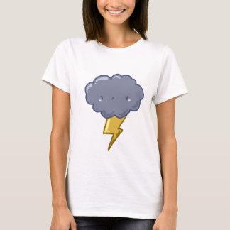 Camiseta T-shirt louco da nuvem de trovão