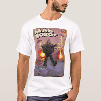 Camiseta T-shirt louco do cobrir da polpa do robô